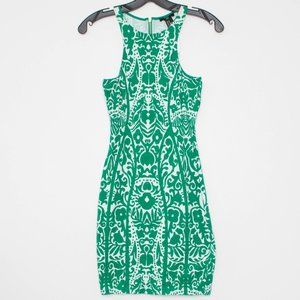 NWT H&M Womens Dress Sleeveless High Neck Green XS